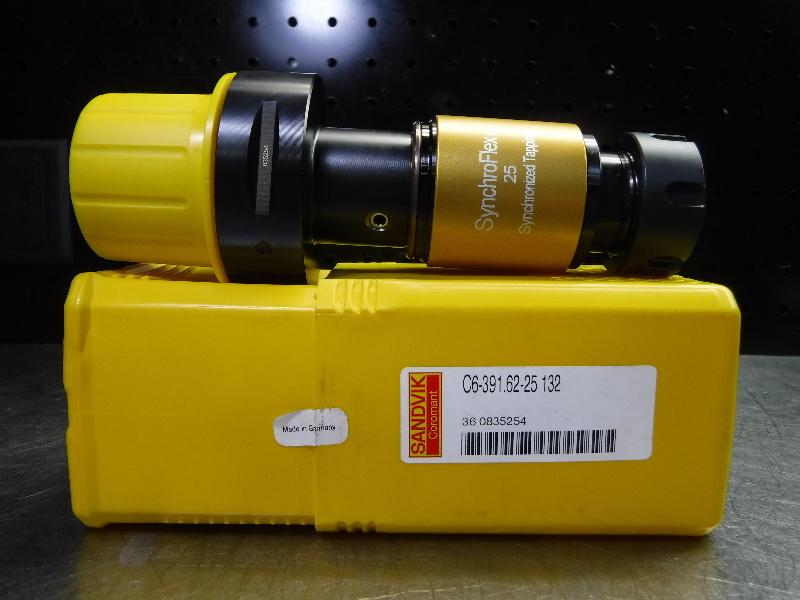 Sandvik Capto C6 ER25 SynchroFlex Rigid Tap Chuck C6-391.62-25 132 (LOC1291A)