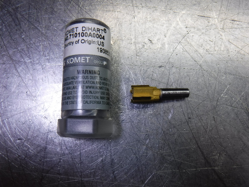 "Komet Dihart 9.5mm Reamer 5.25"" Shank 340.710100A0004 (LOC2456)"