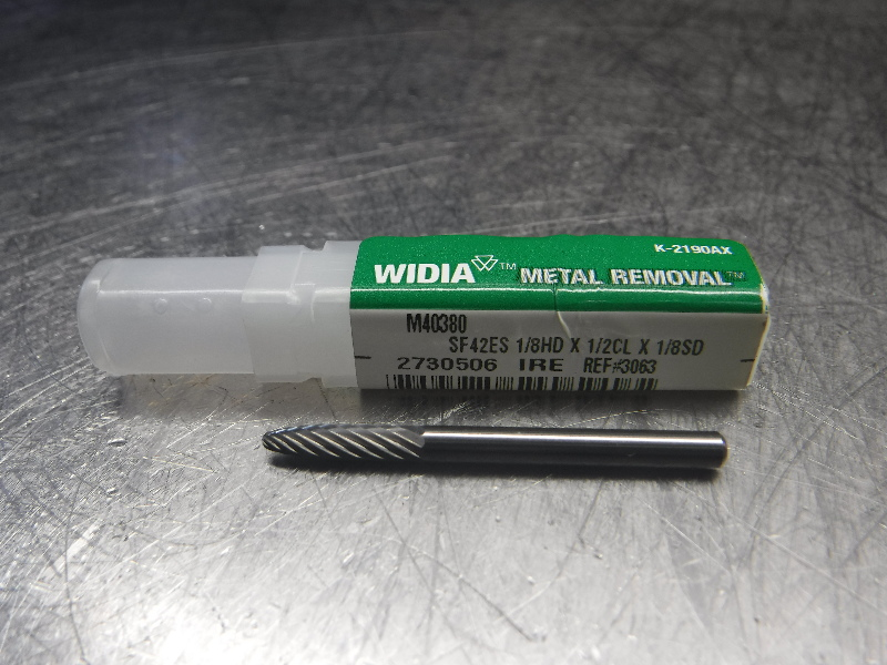 "Widia 1/8"" Round Nose Tree Burr M40380 (LOC2456)"