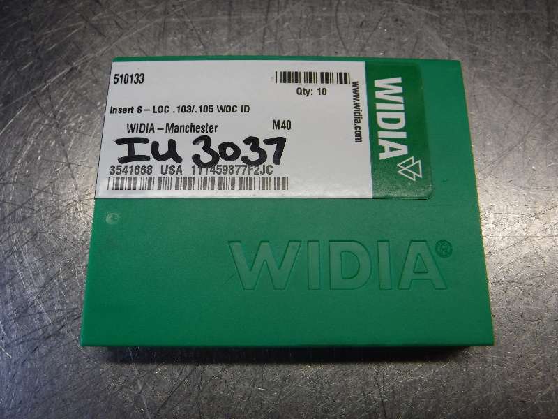 Widia Carbide Inserts QTY10 111459377F2JC M40 (LOC1319A)