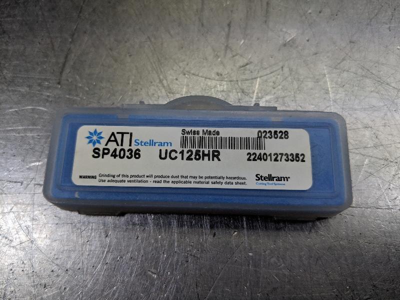 """ATI Stellram Series Z 12.5mm (1/2"""") Spade Drill Inserts Qty2 UC125HR (LOC2803D)"""