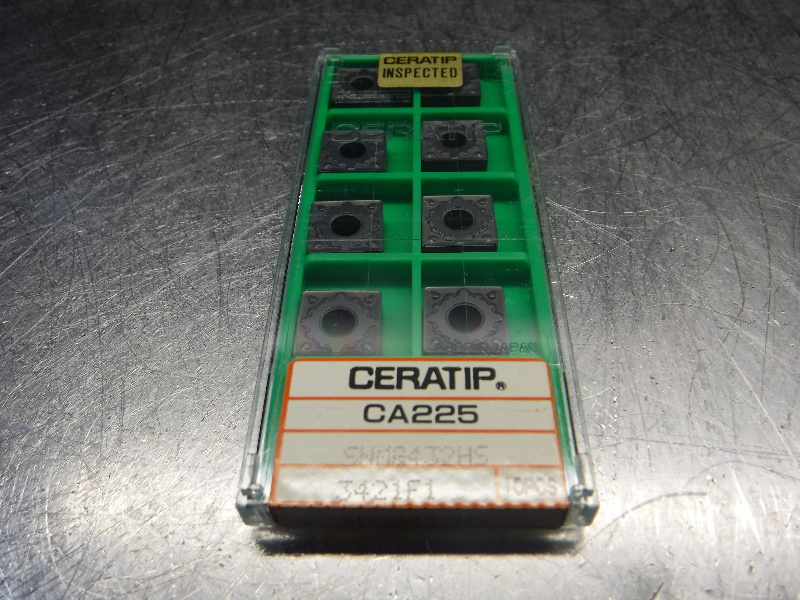 Kyocera Ceratip Carbide Inserts QTY10 SNMG432HS 3421F1 CA225 (LOC2287)