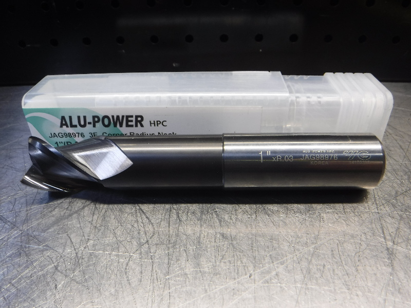 "Y.G-1 TOOL CO. ALU-Power 1"" Solid Carbide Endmill 3 Flute JAG98976 (LOC1956B)"