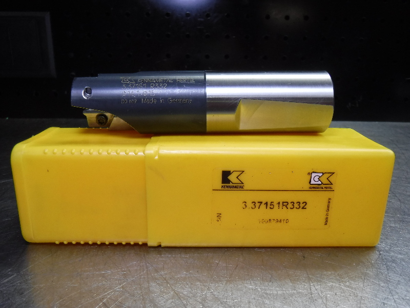 Kennametal Ø14,1-Ø15 Indexable Chamfer/Countersink Drill 3.37151R332 (LOC2049A)
