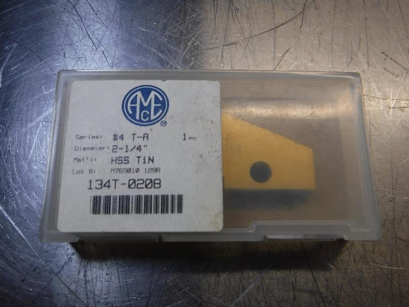 """AMEC #4 T-A 2-1/4"""" Spade Drill Insert QTY1 134T-0208 (LOC1405A)"""