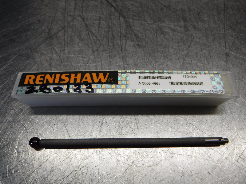 Renishaw 4mm Carbon Fiber Shank 6mm Ball Styli Probe A-5003-4861 (LOC2409)