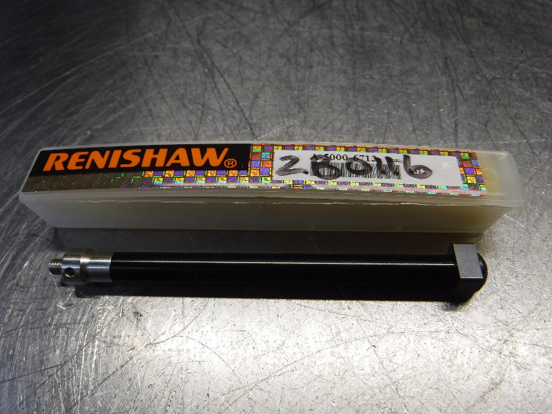 Renishaw 7.50mm Aluminium Shank Tungsten Carbide Cube Probe A-5000-6713 (LOC2409)