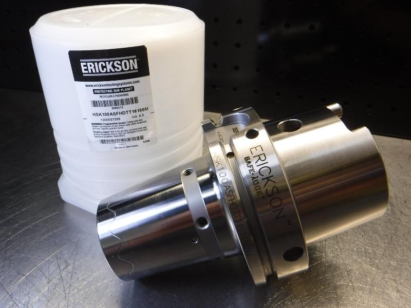 "Erickson HSK100 16mm Shrink Fit Holder 4"" Pro HSK100ASFHDTT16100M (LOC1723B)"