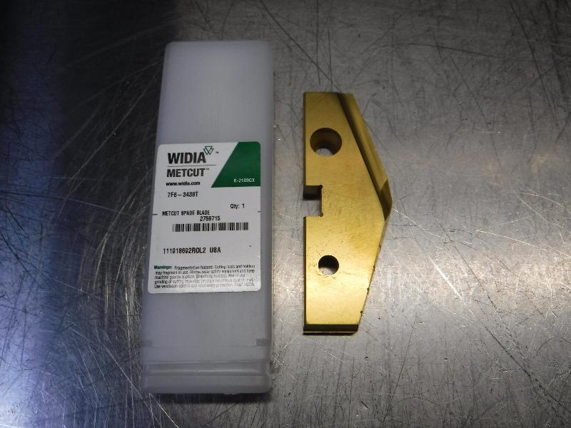 """Widia 3.4375"""" HSS Drill Tip Insert QTY1 7F6-3438T (LOC2048A)"""