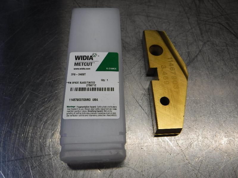 """Widia 3.469"""" HSS Drill Tip Insert QTY1 7F6-3469T (LOC534)"""