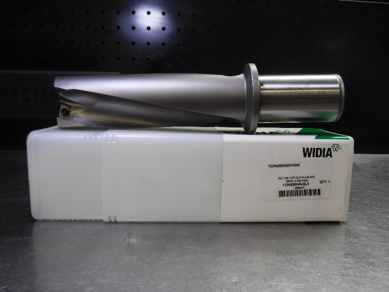 Widia 45mm 3XD Indexable Drill 40mm shank TCP450R3SNF40M  XOMT insert (LOC2218A)