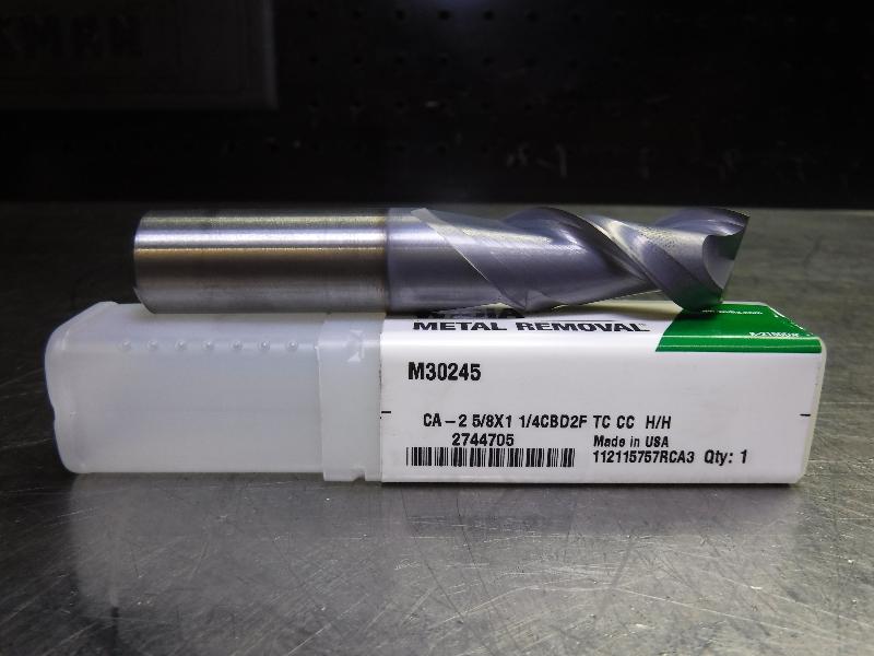 "Widia Metal Removal 5/8"" Solid Carbide Endmill 2 Flute M30245 (LOC2218B)"