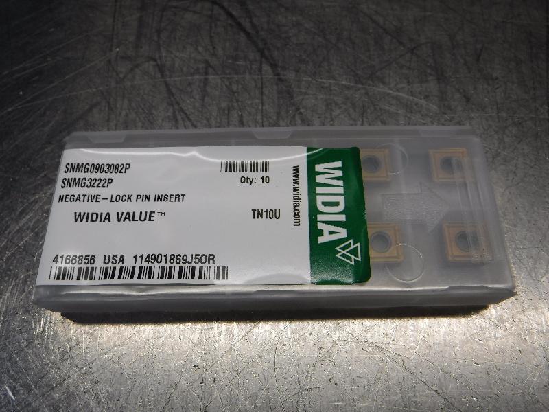 Widia Carbide Inserts QTY10 SNMG0903082P/SNMG3222P TN10U (LOC2578A)