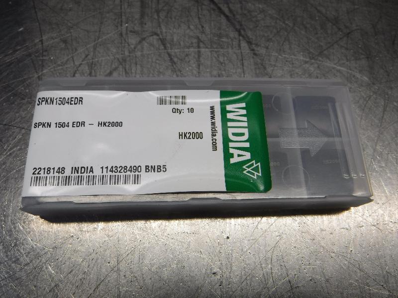 Widia Carbide Inserts QTY10 SPKN1504EDR HK2000 (LOC2578A)