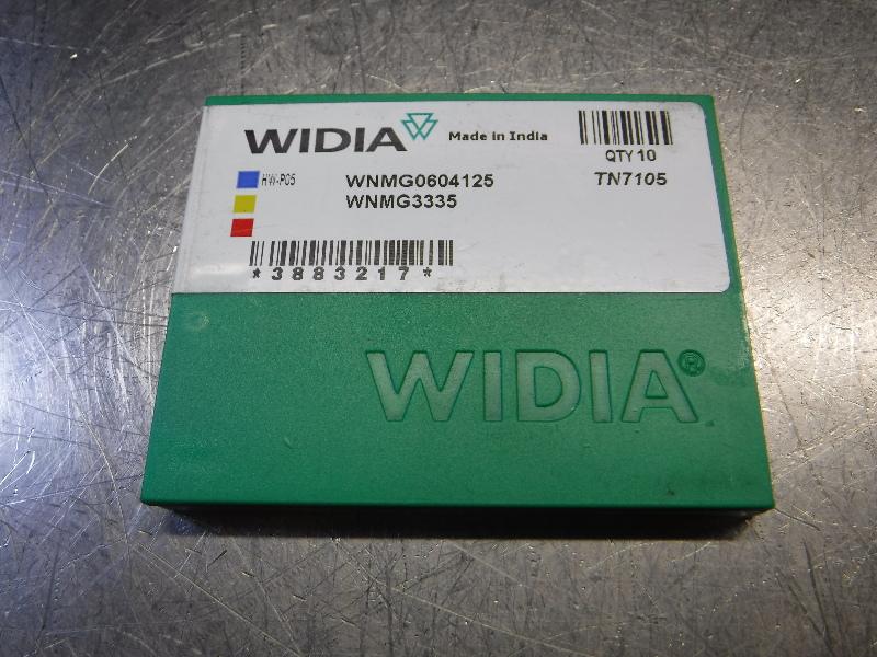 Widia Carbide Inserts QTY10 WNMG0604125/WNMG3335 TN7105 (LOC2568B)