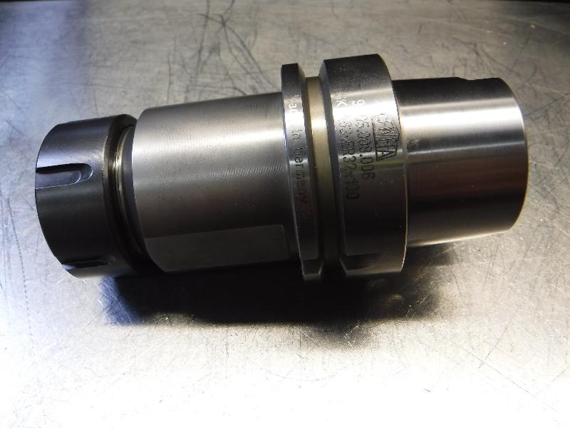 """Gewefa HSK63 ER32 Collet Chuck 3.85"""" Projection HSK-A63XER32X100 (LOC2917B)"""