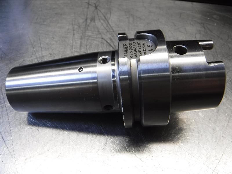 """Haimer HSK63 3/4"""" Shrink Fit Holder 3.94"""" Projection A63.140.3/4Z.4 (LOC2923D)"""