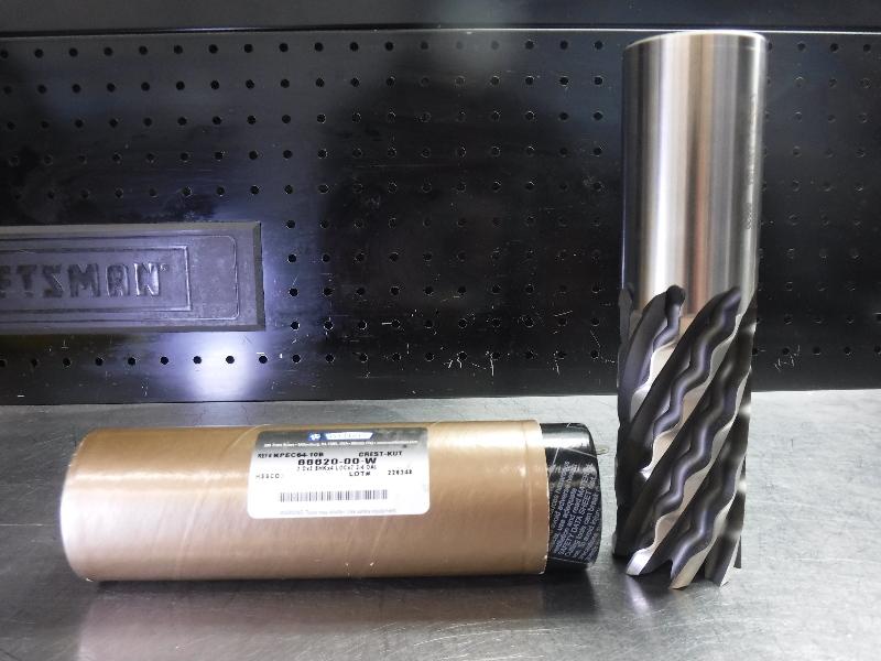 """Weldon 2"""" HSS Crest-Kut Endmill 8 Flute KPEC64-10B (LOC1593B)"""