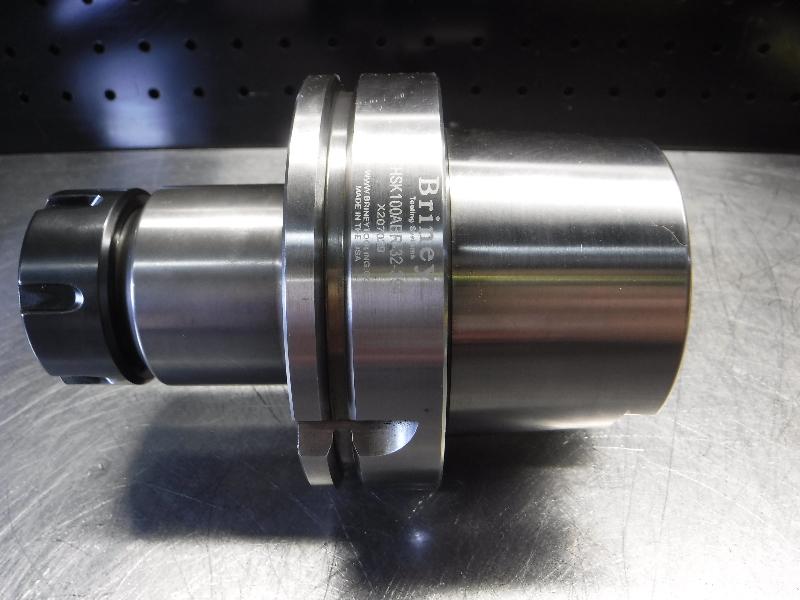 """Briney HSK100 ER32 Collet Chuck 3.7"""" Projection HSK100ABR-32-394 (LOC1601)"""