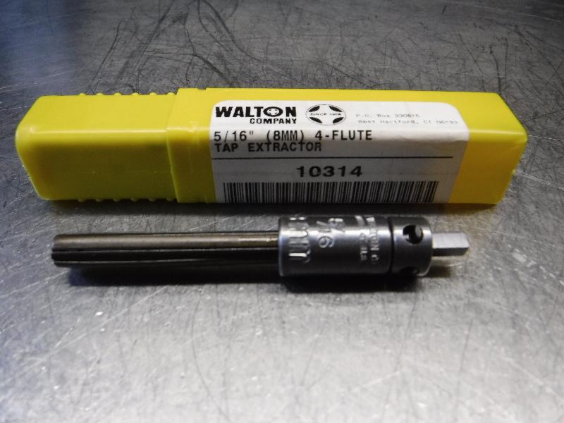 "Walton Company 5/16"" (8MM) 4 Flute Tap Extractor 10314 (LOC1337A)"