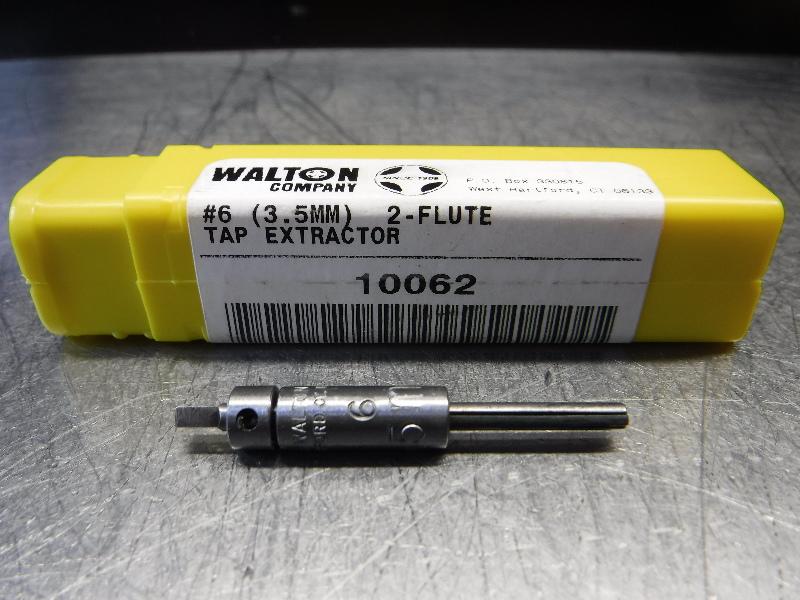 Walton Company #6 (3.5MM) 2 Flute Tap Extractor 10062 (LOC343A)