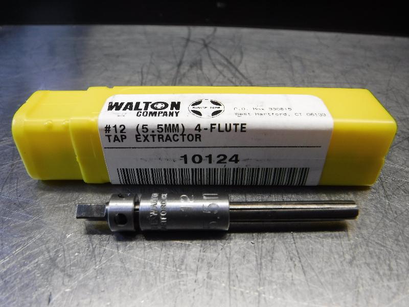 Walton Company #12 (5.5MM) 4 Flute Tap Extractor 10124 (LOC343A)