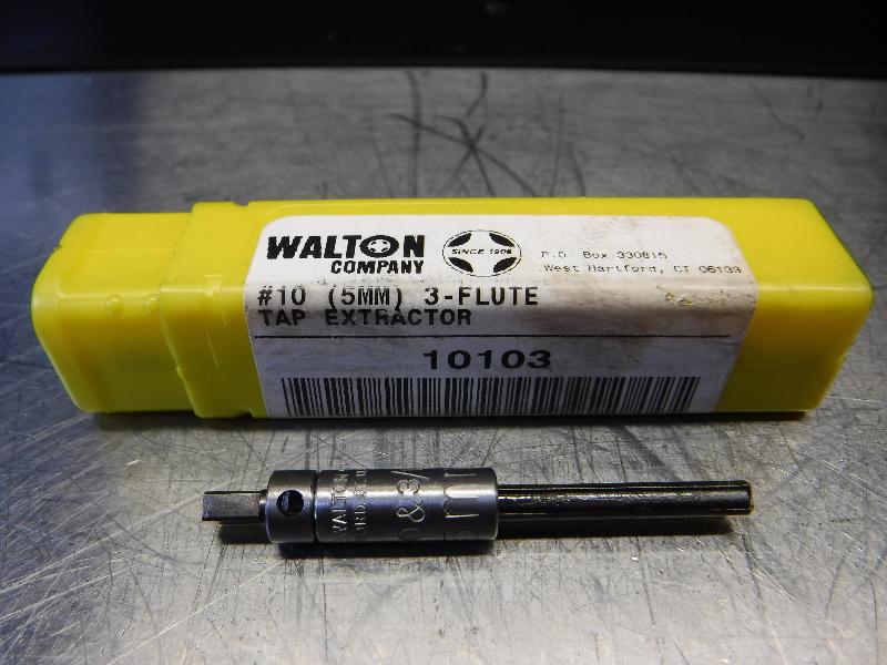 Walton Company #10 (5MM) 3 Flute Tap Extractor 10103 (LOC343A)
