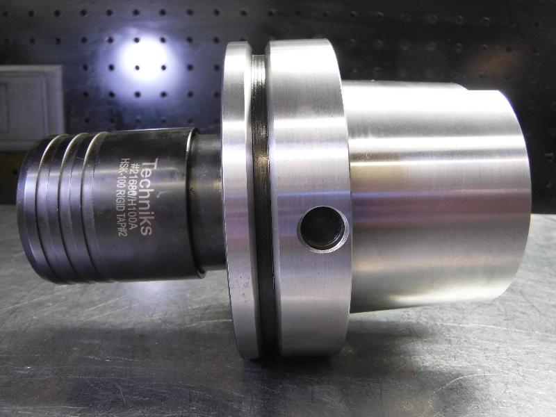 """Techniks HSK100A Bilz #2 Rigid Tapping Chuck 3.75"""" PRO 21680/H100A (LOC1789)"""
