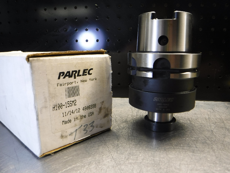 """Parlec HSK100 1.5"""" Facemill Holder 3"""" Projection H100-15SM2 (LOC472)"""