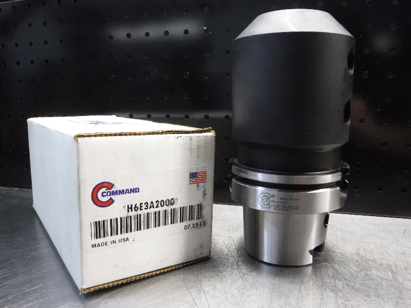 "Command HSK100 2"" Endmill Holder 5.875"" Projection H6E3A2000 (LOC2350)"