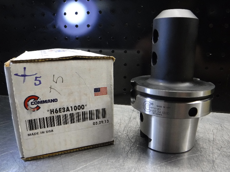 "Command HSK100 1"" Endmill Holder 4.5"" Pro H6E3A1000 (LOC2327)"
