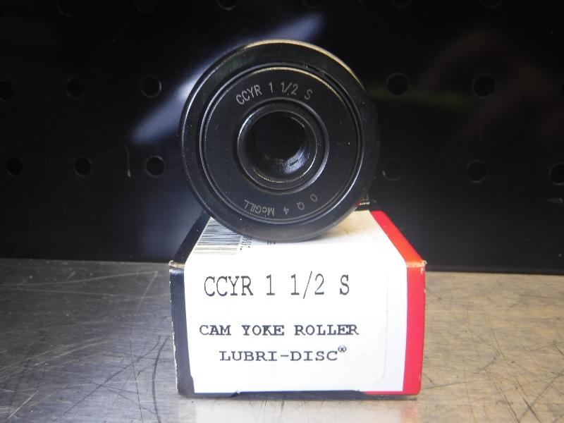 "Mcgill Cam Yoke Roller 1.5"" Roller Dia .4375"" Bore Dia CCYR 1 1/2 S (LOC1581)"