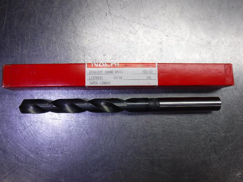 """Nachi 11/16"""" HSS Drill 2 Flute L6531 (LOC2030B)"""
