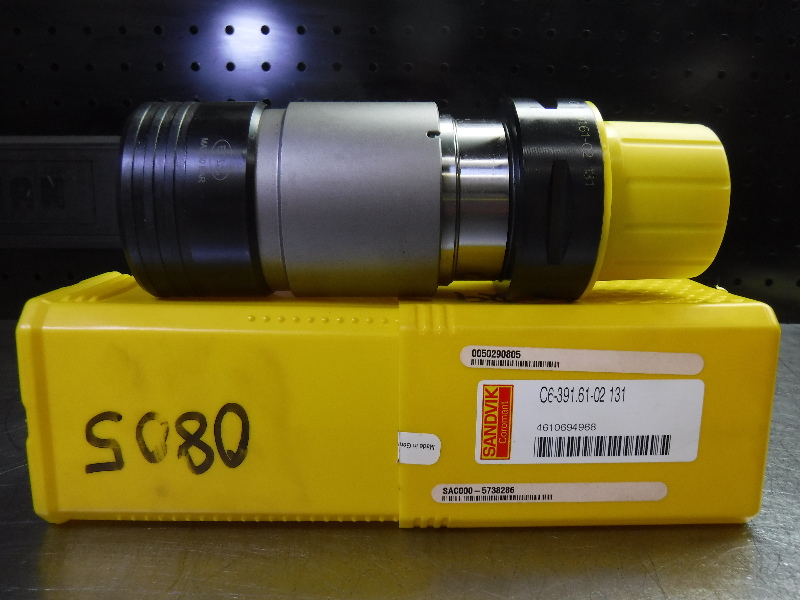 Sandvik Capto C6 Bilz #2 Tapping Chuck 131mm PRO C6-391.61-02 131 (LOC57)