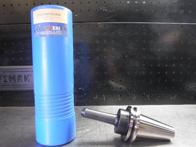 "ERI America CAT40 1/8"" Endmill Holder 4"" Projection CV40-EM0125-4.00 (LOC1904B)"