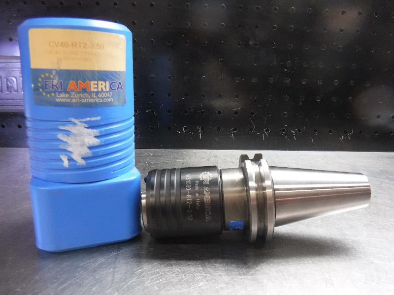 "ERI America Bilz #2 Rigid Tapping Chuck 3.5"" Projection CV40-RT2-3.50 (LOC1904B)"