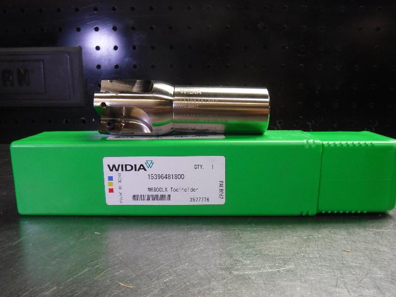 "Widia 1.5"" M6800LX Indexable Endmill 1.25"" Shank 15396481800 (LOC2444)"
