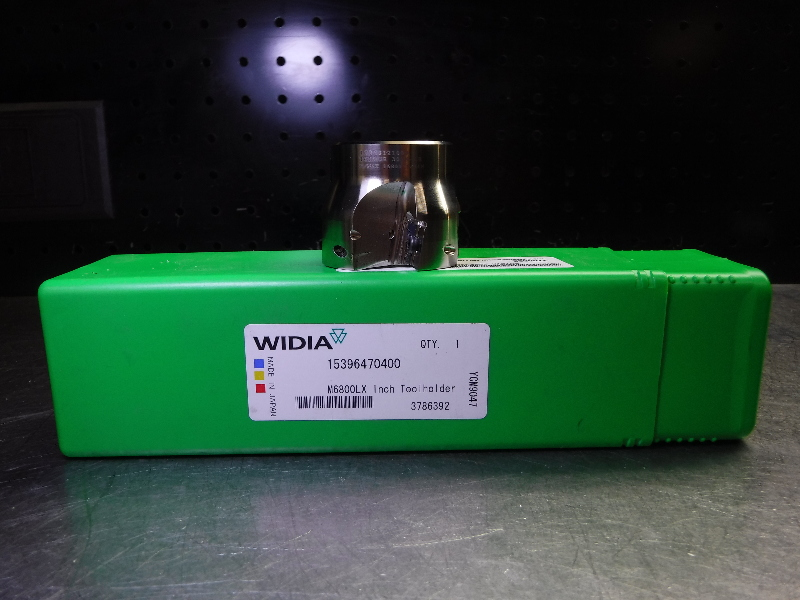 """Widia 2"""" M6800LX Indexable Facemill 3/4"""" Arbor 15396470400 (LOC2444)"""