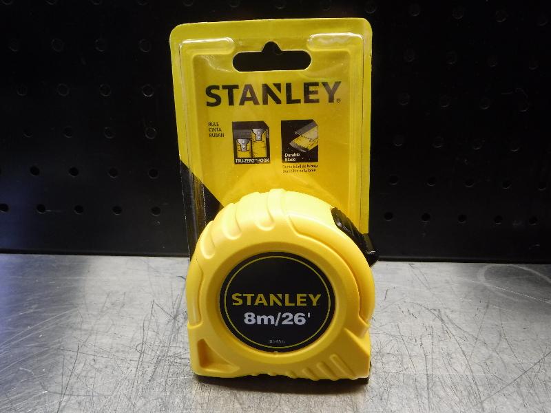 Stanley 26' Steel SAE/Metric Tape Measure 30-456 (LOC1978D)