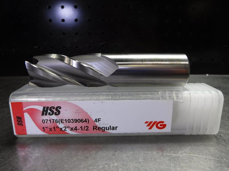 "YG-1 1"" HSS Endmill 4 Flute 07176 (LOC2475)"