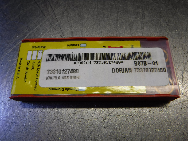 Dorian Tool Cobalt Diagonal Left Tooth Knurling Wheel 73310127530 (LOC417)