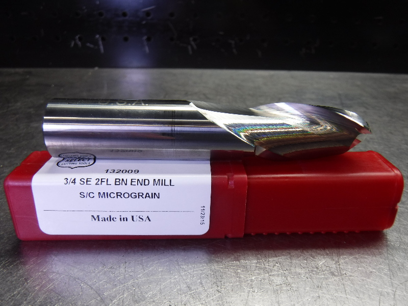 "US SELECT 3/4"" Solid Carbide Ball Nose Endmill 2 Flute 132009 (LOC2356)"