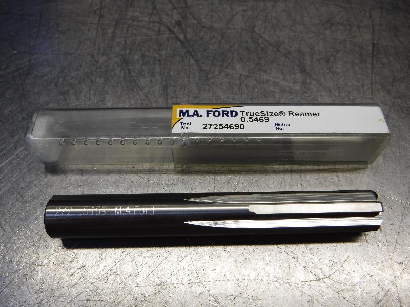 "M.A. Ford TrueSize 35/64"" Carbide Reamer 0.5350"" Shank 27254690 (LOC841)"