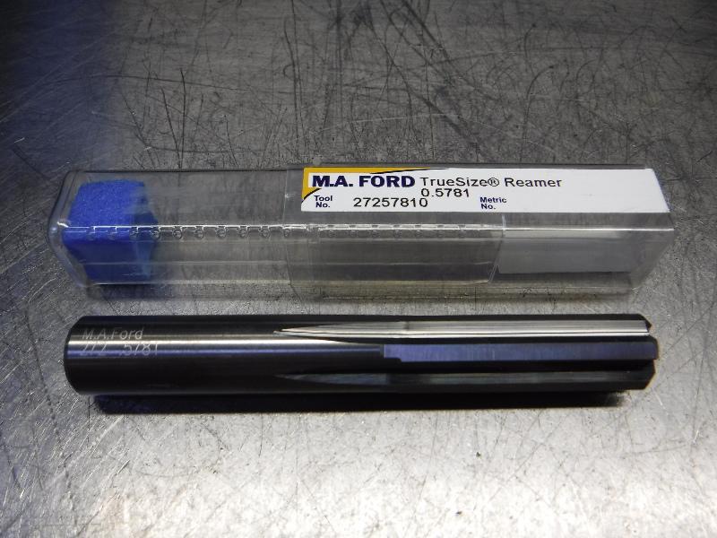 "M.A. Ford TrueSize 37/64"" Carbide Reamer 0.5650"" Shank 27257810 (LOC841)"