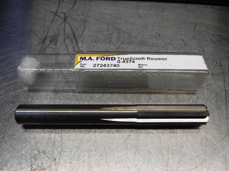 "M.A. Ford TrueSize 7/16"" Carbide Reamer 0.4100"" Shank 27243740 (LOC1170A)"