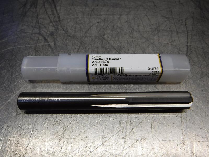 M.A. Ford TrueSize 10mm Carbide Reamer 9.65mm Shank 27239370 (LOC1181A)