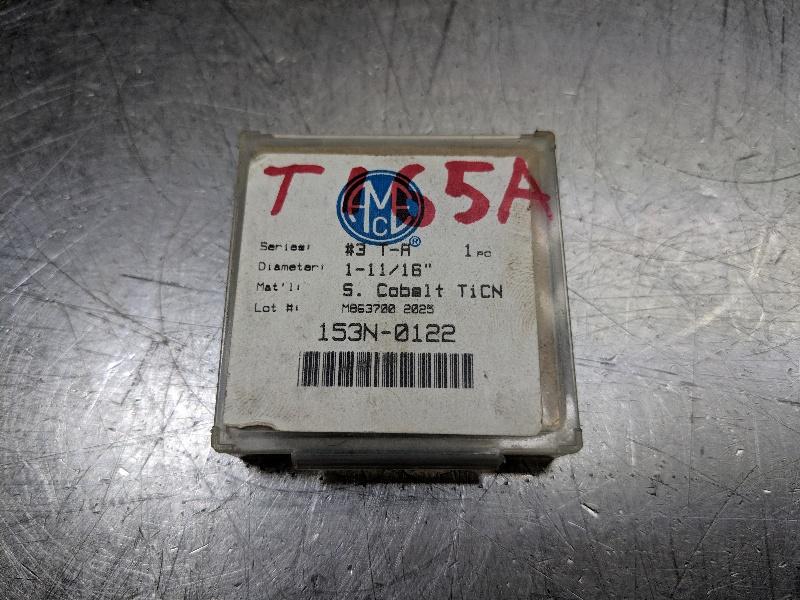 "AMEC Series #3 T-A 1-11/16"" Spade Drill Insert Super Cobalt 153N-0122 (LOC2838A)"