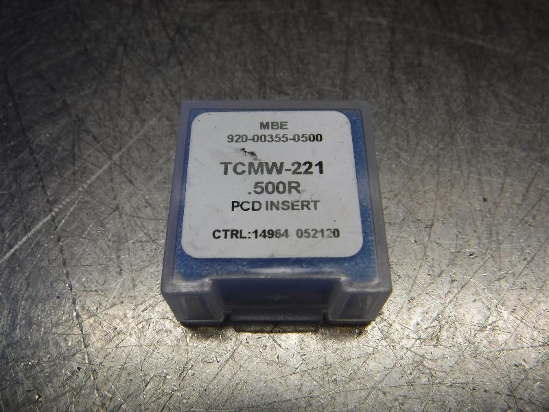 MBE PCD Tipped Carbide Insert TCMW-221.500R (LOC1293C)