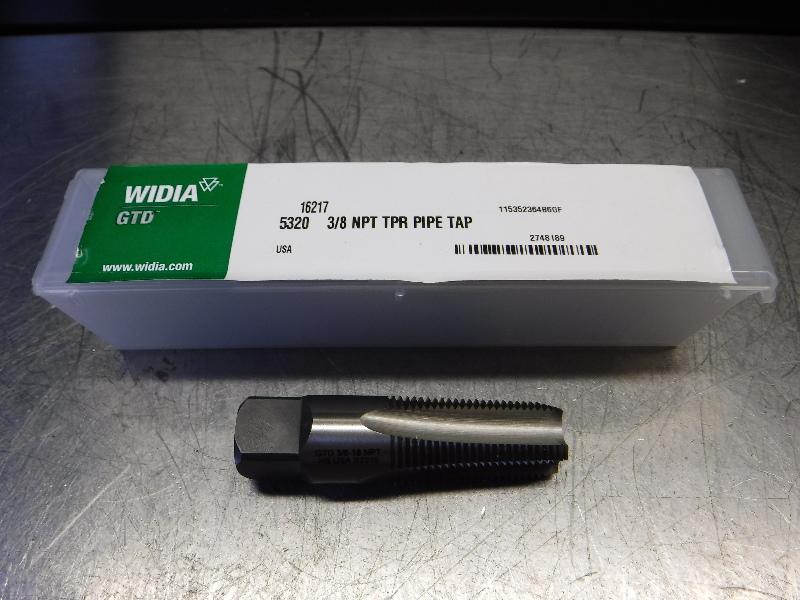 Widia 3/8-18NPT HSS Taper Pipe Tap 5320 3/8 NPT TPR PIPE TAP (LOC1823A)