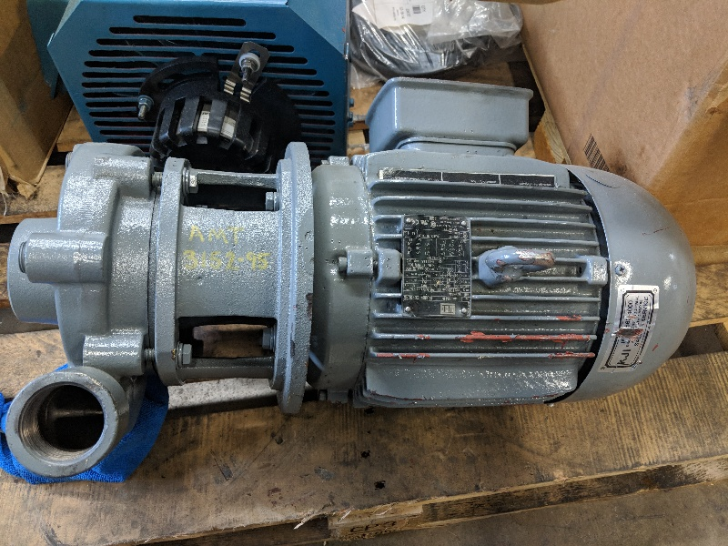 Weg 3 Phase 5 HP Closed Coupled Pump W22 (STK)